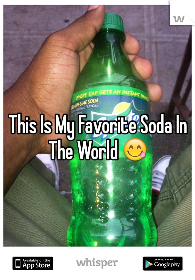 This Is My Favorite Soda In The World 😋