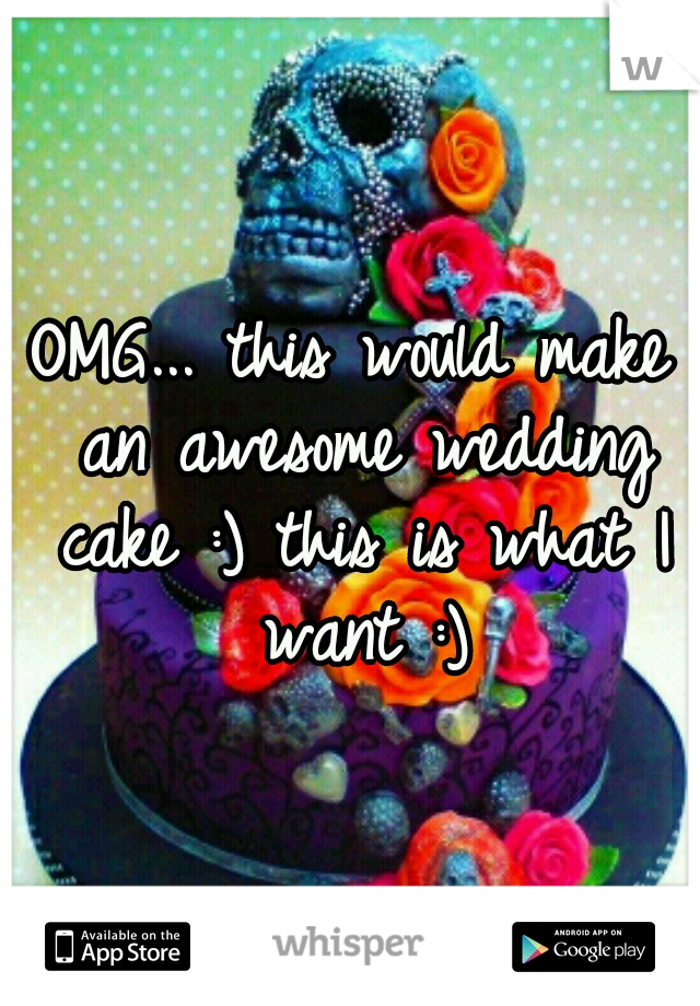 OMG... this would make an awesome wedding cake :) this is what I want :)
