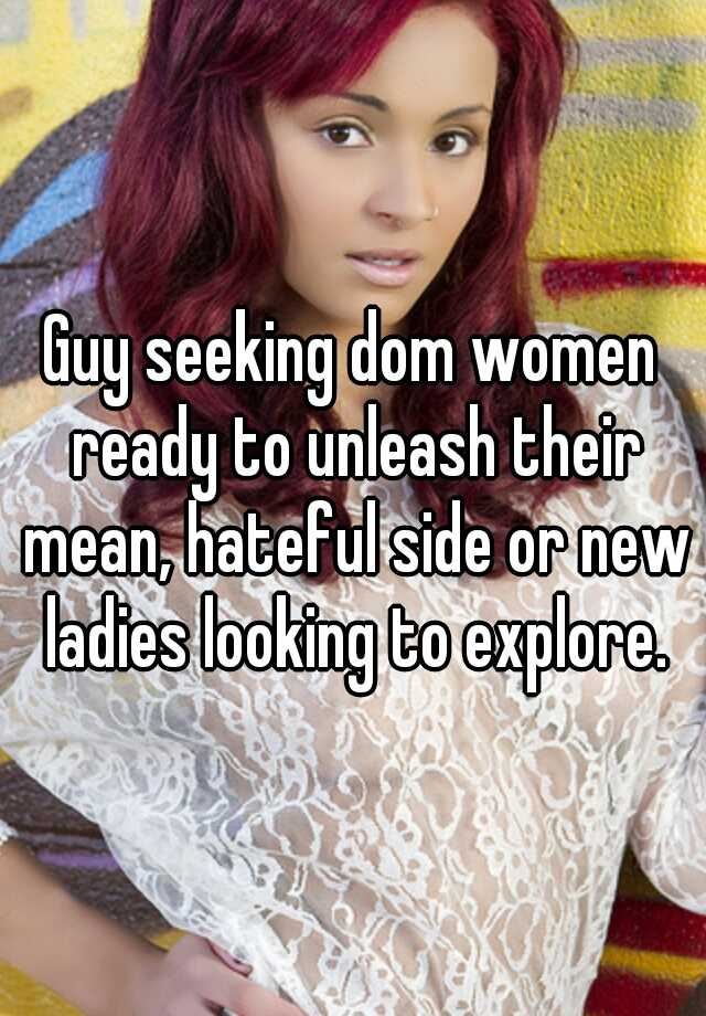 Seeking dom