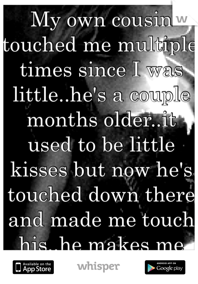 he touched me there