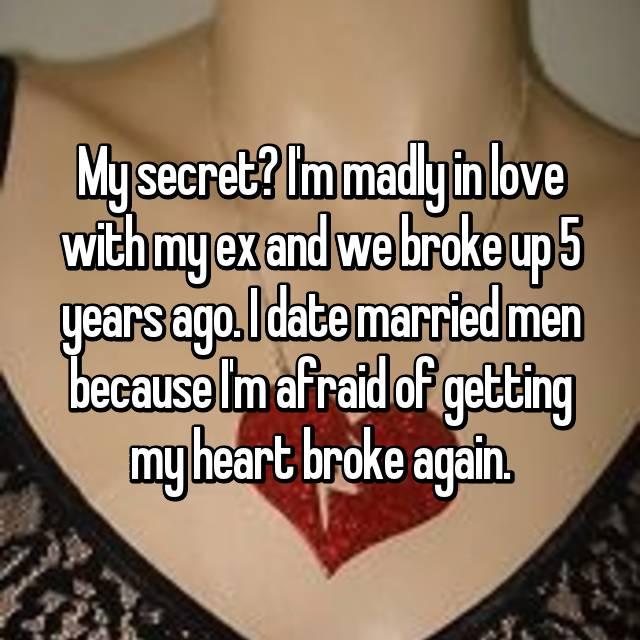 Dating married man heartbreak