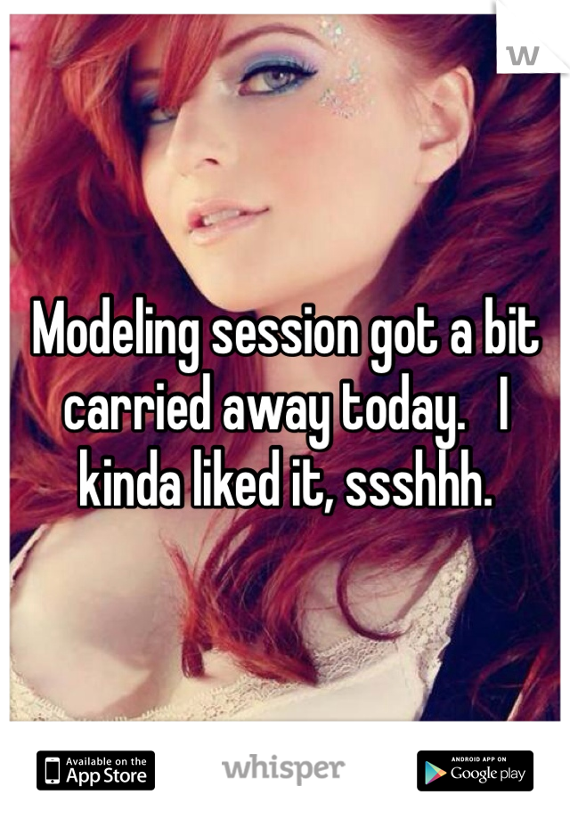 Modeling session got a bit carried away today.   I kinda liked it, ssshhh.