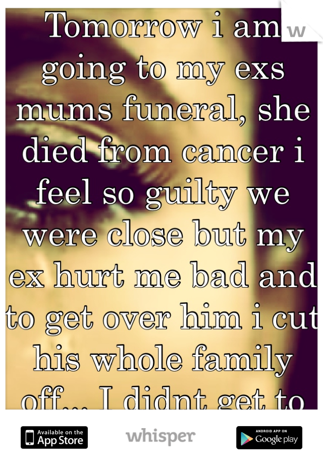What to say at my mums funeral