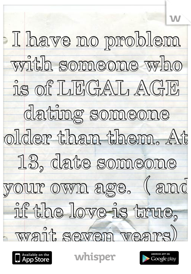 A Is Dating Someone Law Against There