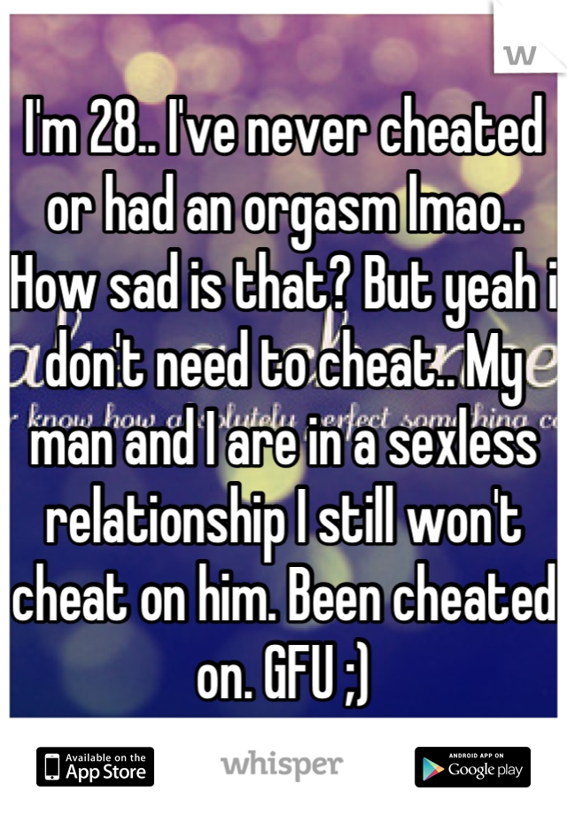 Sex less relationships man wont