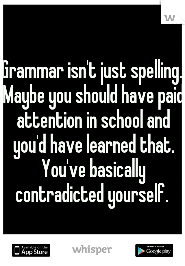 you should grammar