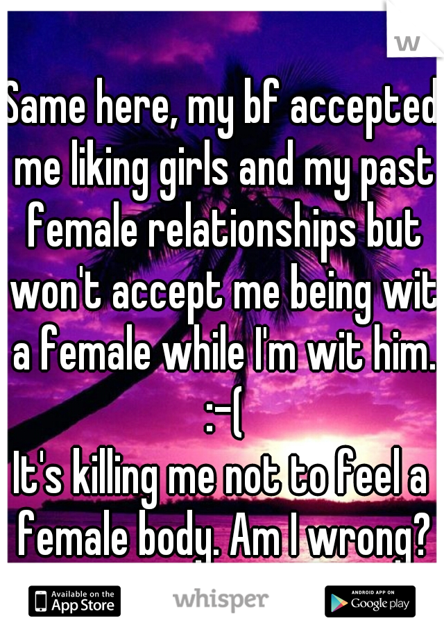 my boyfriend almost killed me