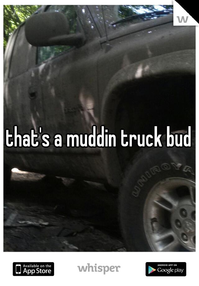 that's a muddin truck bud