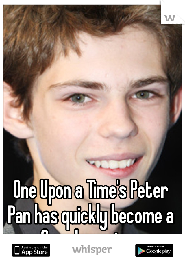 One Upon a Time's Peter Pan has quickly become a fun character.