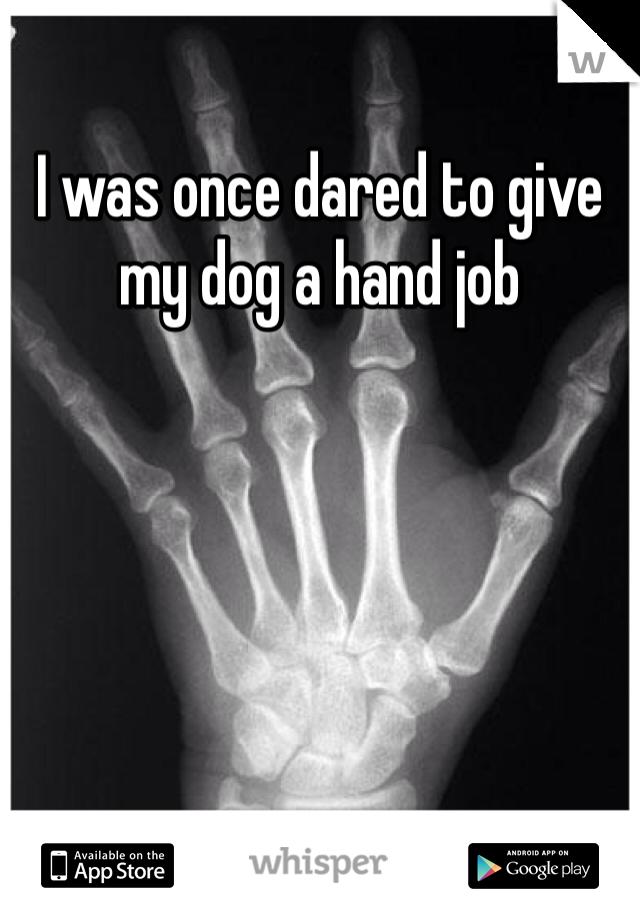 Give hand hand job