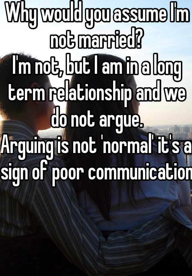 how to not argue in a relationship