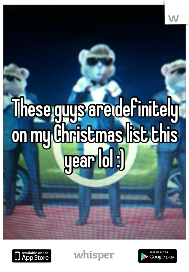These guys are definitely on my Christmas list this year lol :)