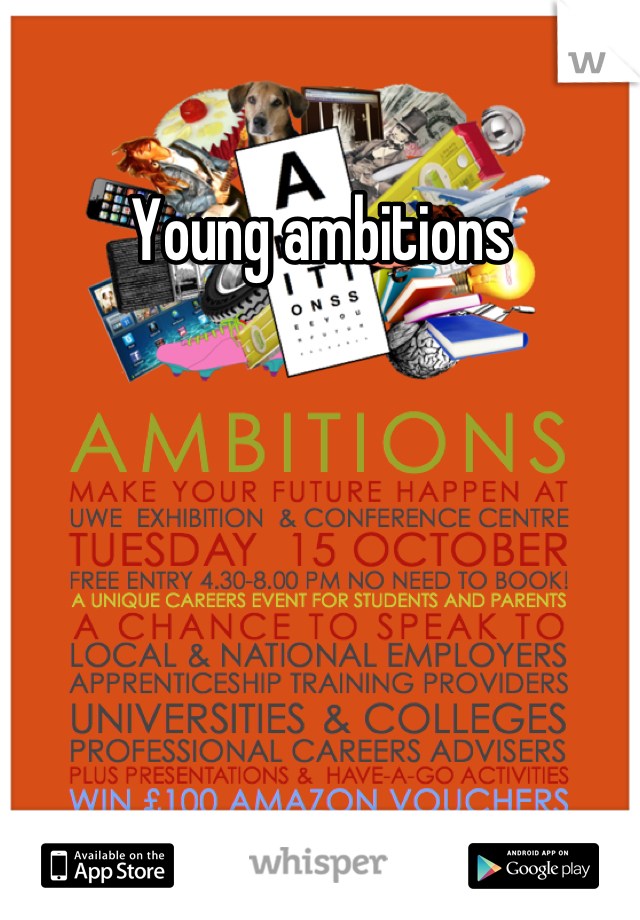 Young ambitions