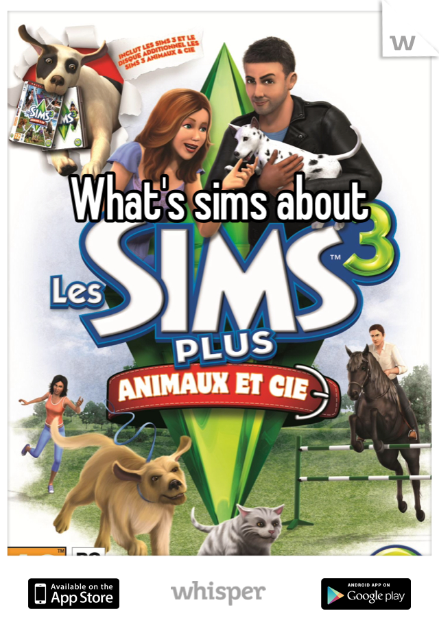 What's sims about