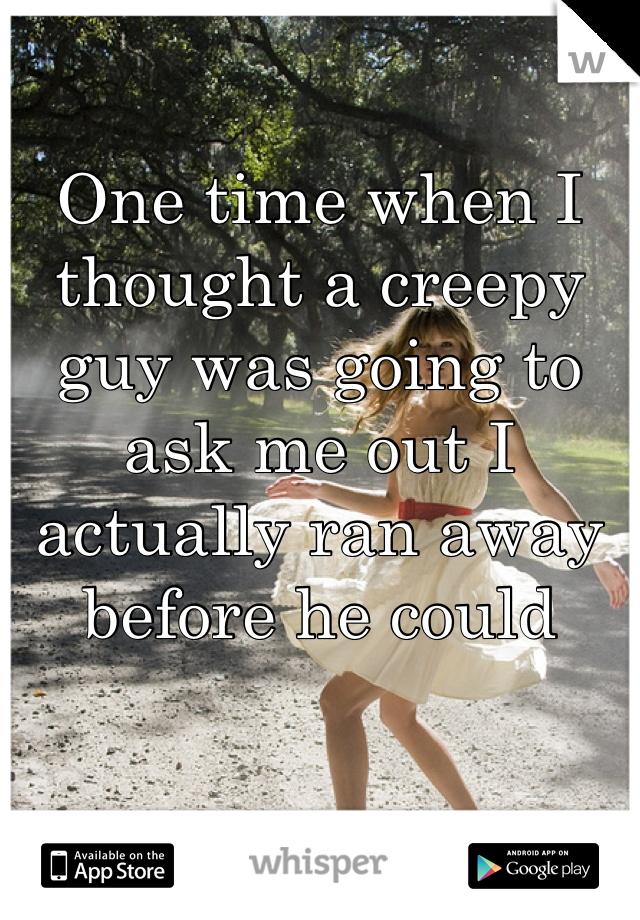a time when i ran away
