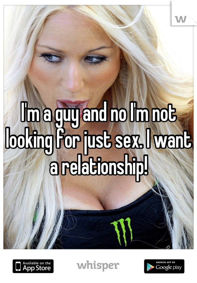 Looking for just sex