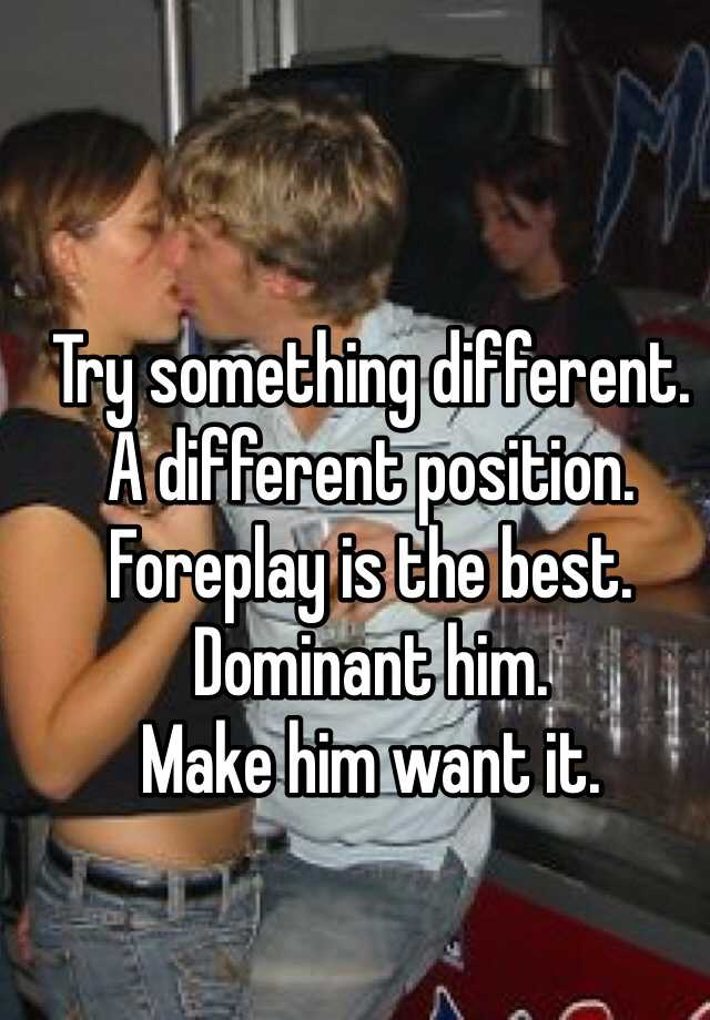 best foreplays for him