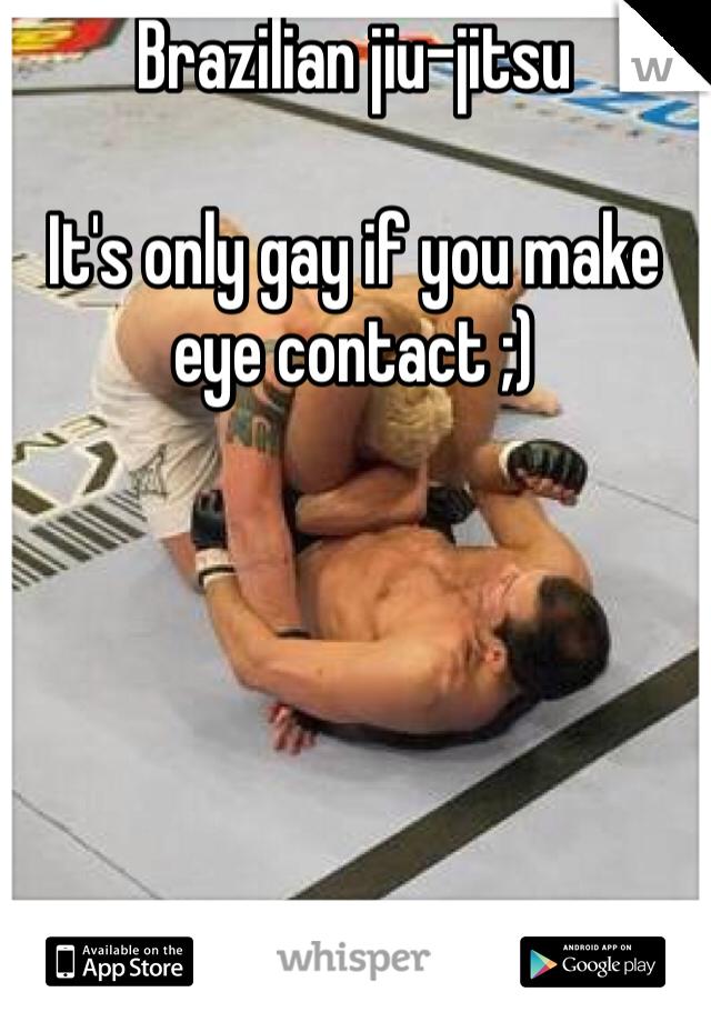 Gay jiu jitsu
