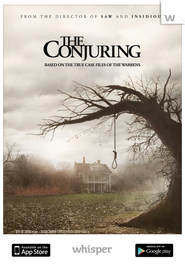 about to watch the conjuring by myself....im scared