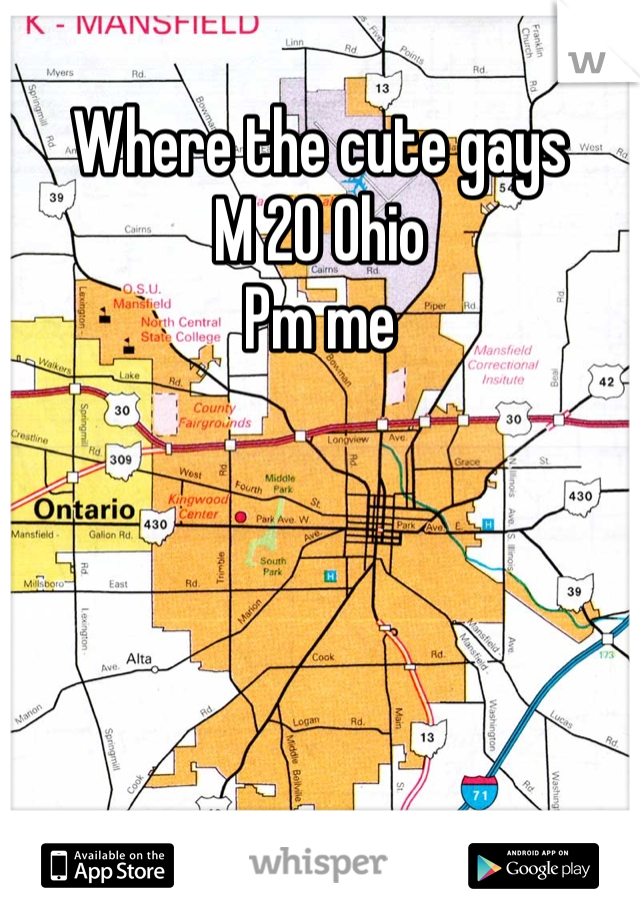Where the cute gays  M 20 Ohio  Pm me