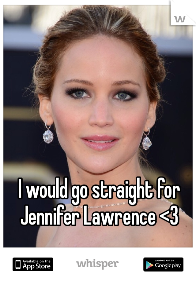 I would go straight for Jennifer Lawrence <3