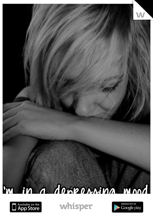 I'm in a depressing mood :( m 22