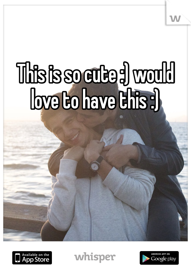 This is so cute :) would love to have this :)