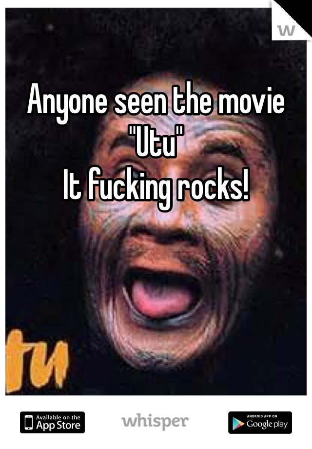 "Anyone seen the movie ""Utu"" It fucking rocks!"