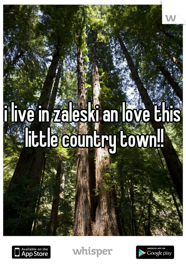 i live in zaleski an love this little country town!!