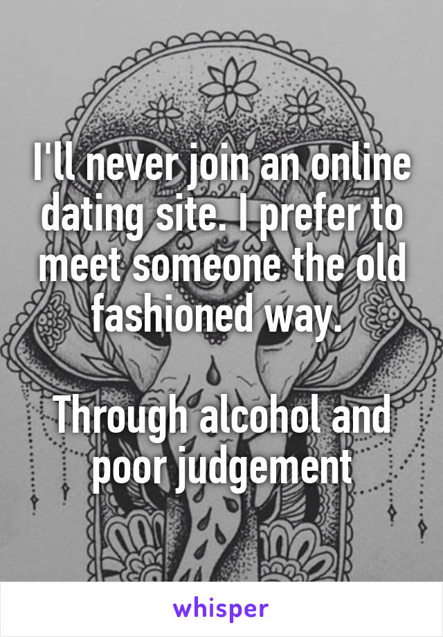 meet someone online dating
