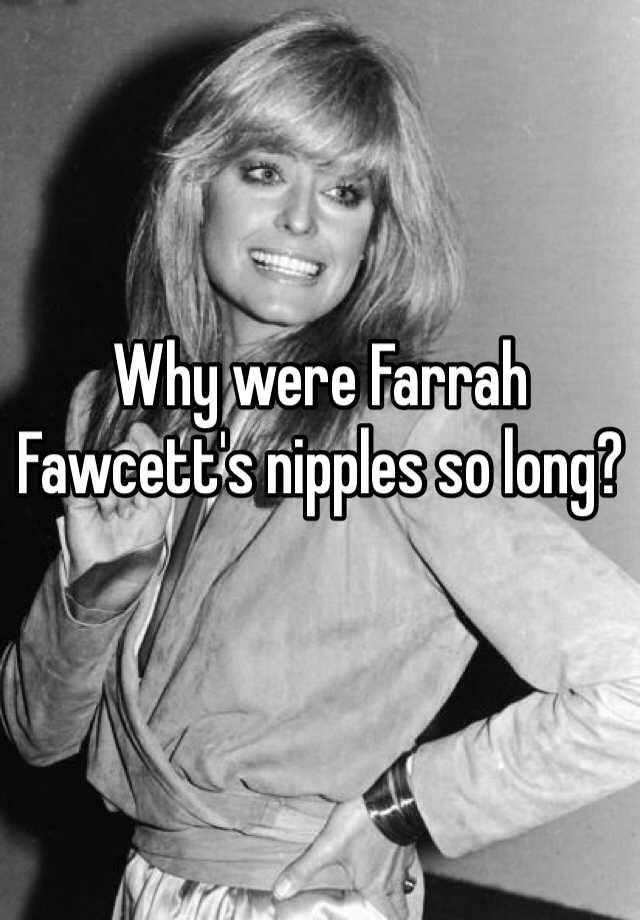 Farrah Fawcett Big Nipples