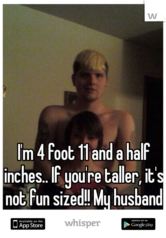 Photo of a 4 foot adult
