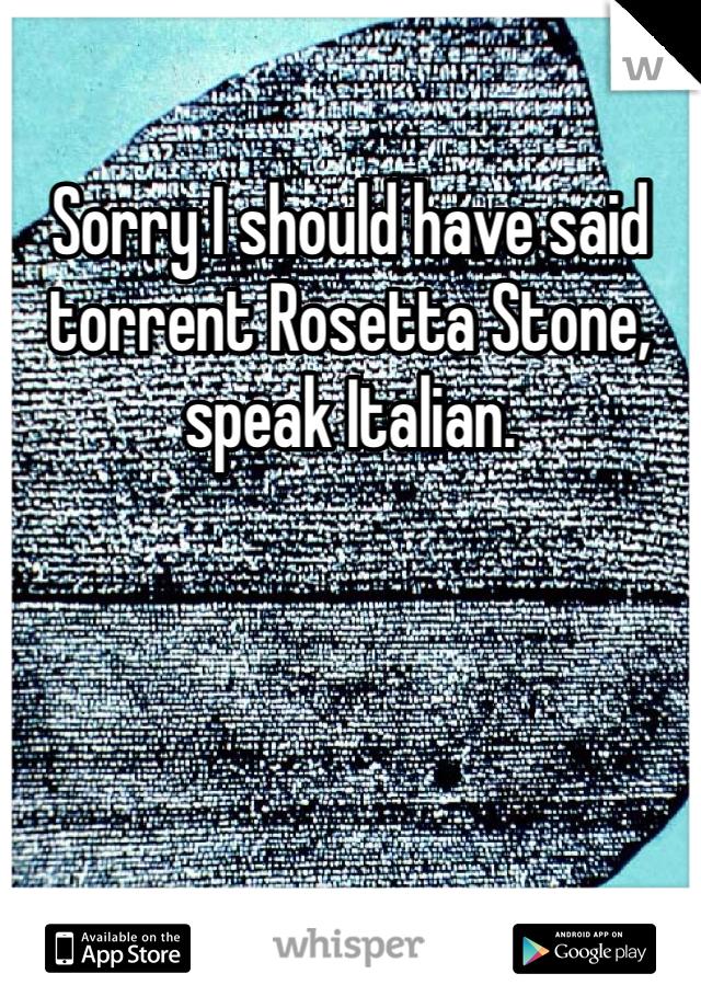 rosseta stone torrent