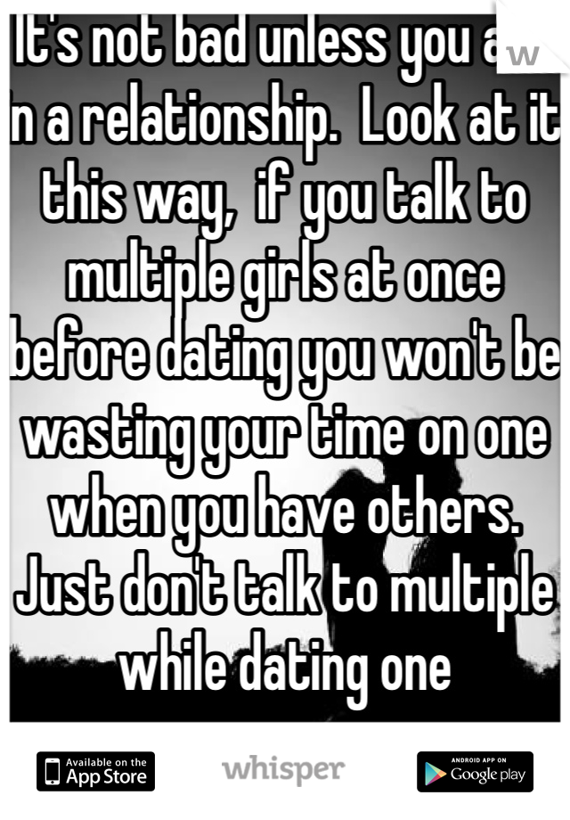 how long do you talk before dating