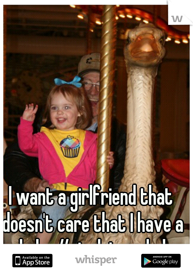 I want a girlfriend that doesn't care that I have a baby #singleteendad