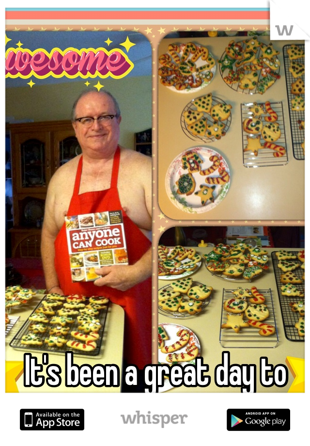 It's been a great day to make Christmas Cookies!!