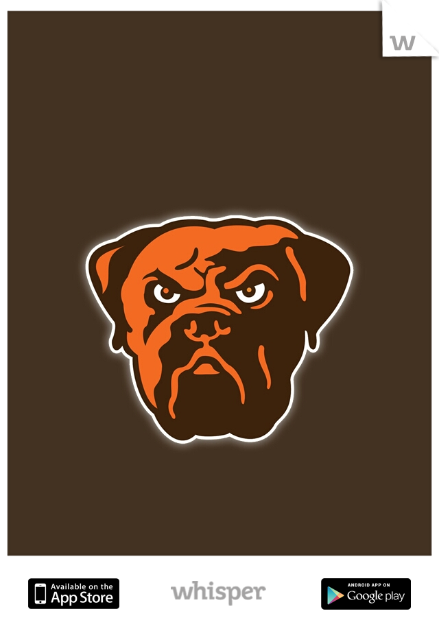 12-3 deep in the 3rd #believeland #gobrownies
