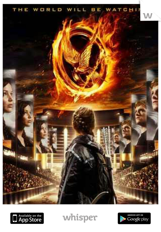 Am I the I only person that wishes something similar to the hunger games actually existed? jus not that young!!
