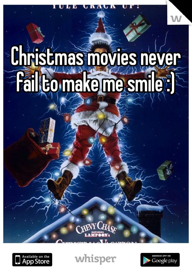 Christmas movies never fail to make me smile :)