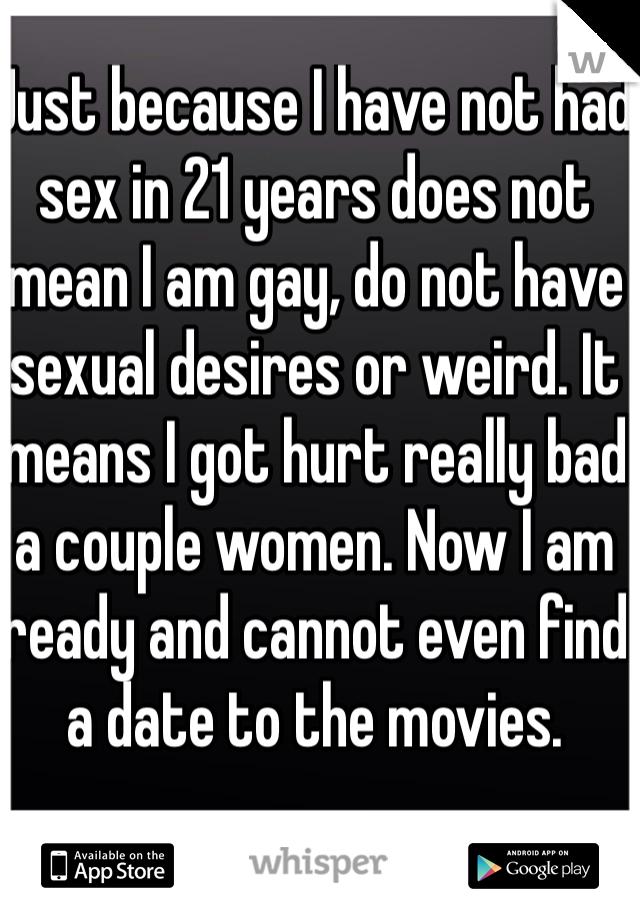 Has not had sex