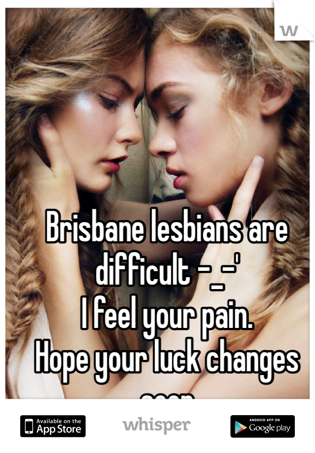 Lesbians in pain