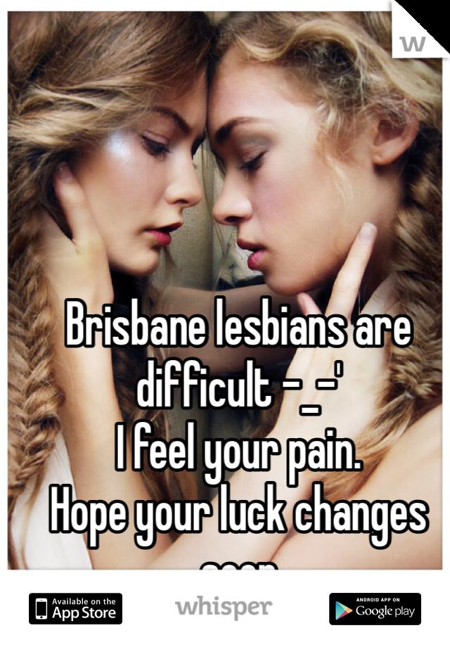 Lesbians in brisbane