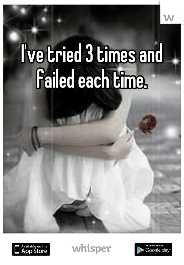 I've tried 3 times and failed each time.