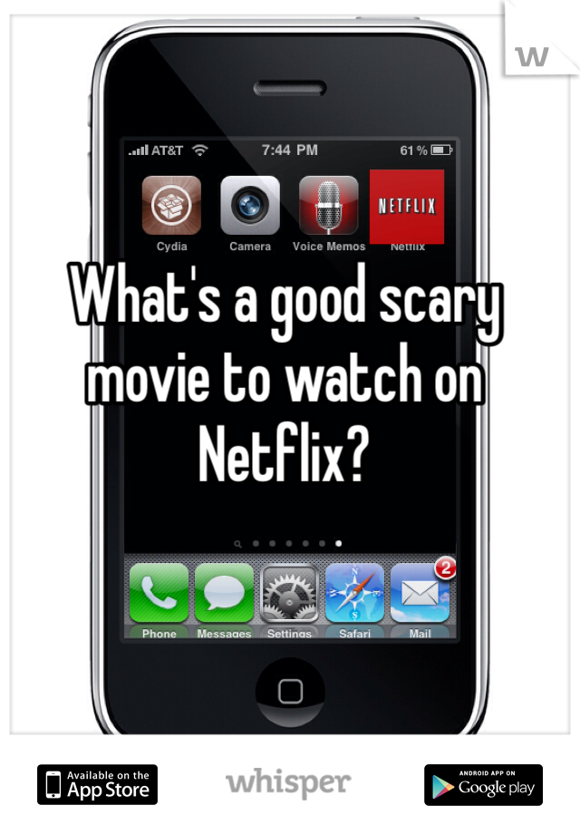 What's a good scary movie to watch on Netflix?