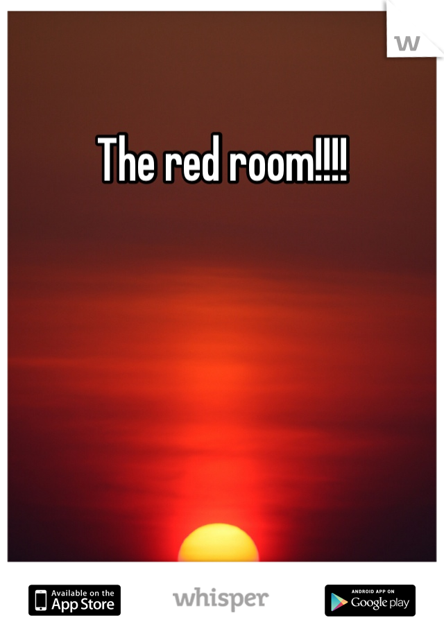 The red room!!!!
