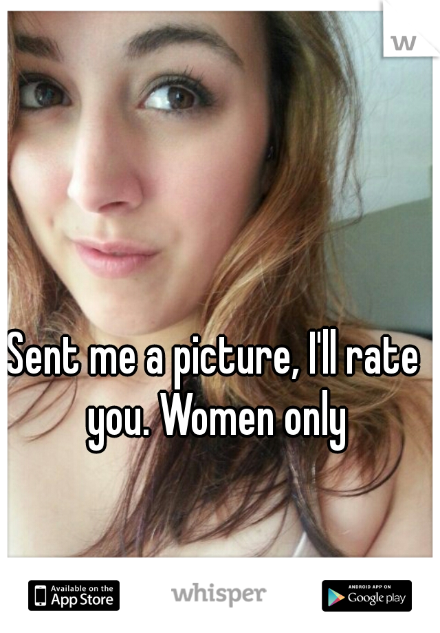 Sent me a picture, I'll rate you. Women only