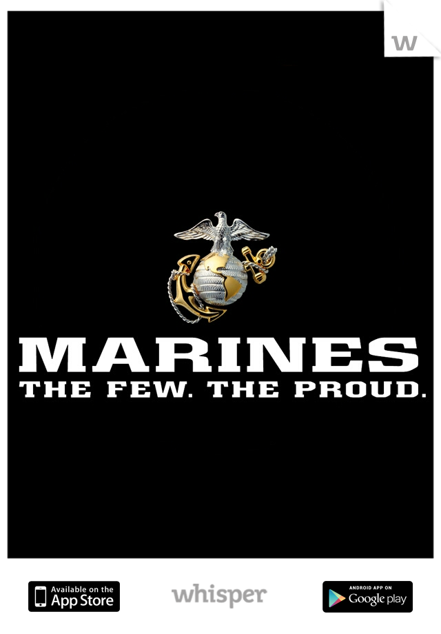 I want a marine to be mine so fucking bad.