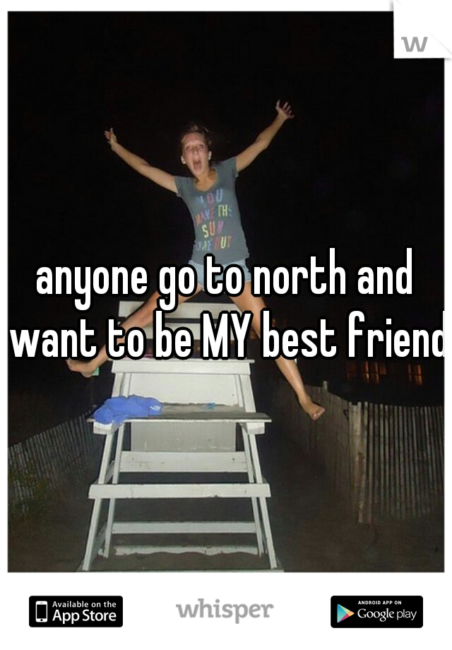 anyone go to north and want to be MY best friend?