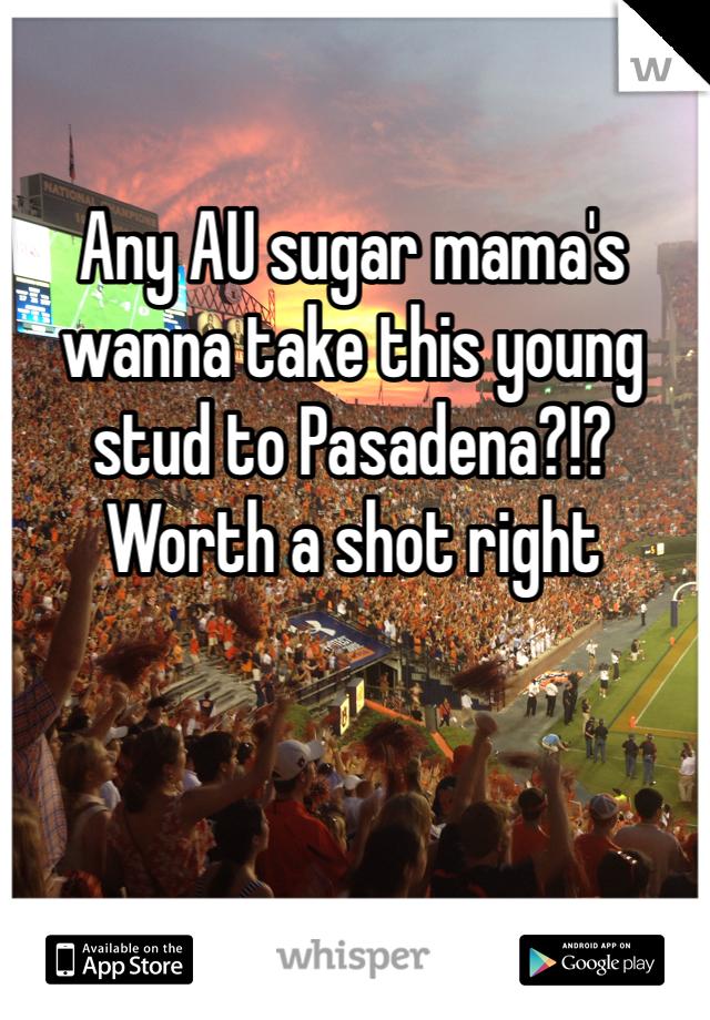 Any AU sugar mama's wanna take this young stud to Pasadena?!? Worth a shot right