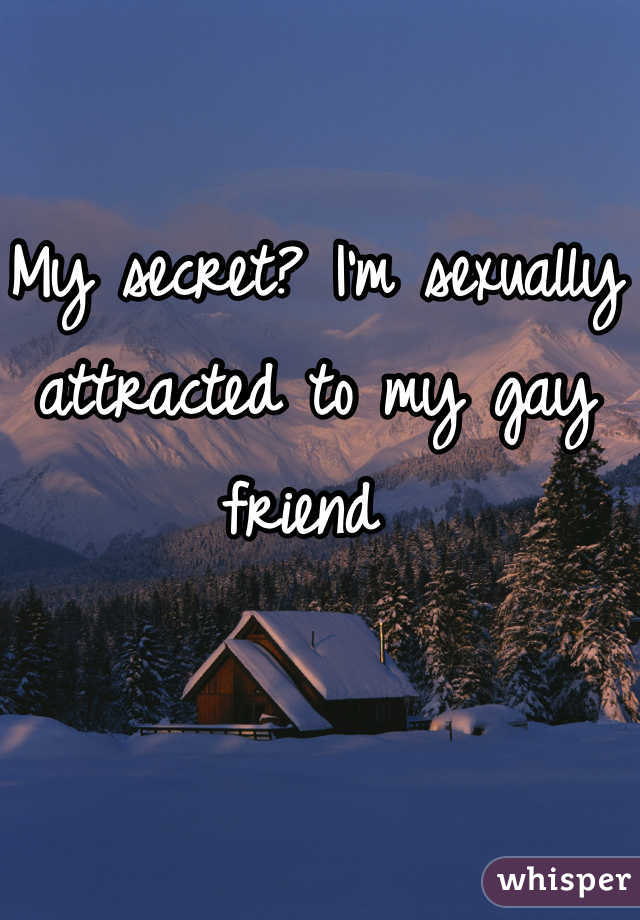 My secret? I'm sexually attracted to my gay friend